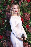 Emily Berrington, 64th Evening Standard Theatre Awards, Theatre Royal Drury Lane, London UK, 18 November 2018, Photo by Richard Goldschmidt