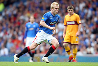 Football - Scottish Premier League -  Rangers vs Motherwell<br /> <br /> Rangers draw 3 -3 with motherwell before being presented with the Clydesdale Bank Premier League Trophy .<br /> <br /> Pictured is Rangers Steven Naismith