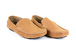 Product Photography of a Moccasin Shoe
