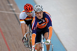 Theo Bos in action during Olympics Games Athletics day 11 on August 23, 2004 in Vouliagmeni Olympic Center.