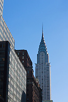 chrysler building in New york City in October 2008
