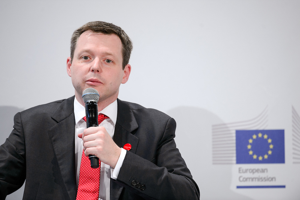 04 June 2015 - Belgium - Brussels - European Development Days - EDD - Jobs - Growing agriculture , growing jobs - The private sector on the spot - Thomas Silberhorn , Parliamentary State Secretary to the Federal Minister for Economic Cooperation and Development , Germany © European Union