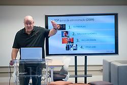 José Salibi Neto tem nome imediatamente associado à introdução no Brasil aos principais conceitos da Gestão Contemporânea nos últimos 25 anos, provocando a transformação de milhares de empresas, executivos e empreendedores em nosso país. É cofundador da HSM, empresa líder em Educação Executiva. FOTO: Jefferson Bernardes/ Agência Preview