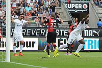 Fotball<br /> Frankrike<br /> 13.09.2014<br /> Foto: Panoramic/Digitalsport<br /> NORWAY ONLY<br /> <br /> but zoumana camara (psg) - joie<br /> <br /> Rennes vs Paris st Germain - Ligue 1