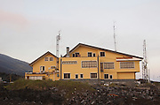 Corsaro Hotel on the Southern slopes of Mount Etna, The highest and most active volcano in Europe, Nicolosi, Sicily, Italy July 2006