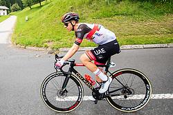 Tadej POGACAR of UAE TEAM EMIRATES during 2nd Stage of 27th Tour of Slovenia 2021 cycling race between Zalec and Celje (147 km), on June 10, 2021 in Zalec - Celje, Zalec - Celje, Slovenia. Photo by Vid Ponikvar / Sportida