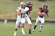 Elyria Catholic at Brookside football on August 24, 2018. Images © David Richard and may not be copied, posted, published or printed without permission.