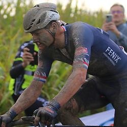 ROUBAIX (FRA): CYCLING: October 3th<br /> Paris-Roubaix men<br /> Mathieu van der Poel