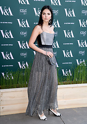 Doina Ciobanu attending the VIP preview for the V&A Museum's Fashioned From Nature exhibition, in London. Photo credit should read: Doug Peters/EMPICS Entertainment