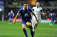 Gareth Barry of Everton in action.Barclays Premier league, Swansea city v Everton at the Liberty Stadium in Swansea,  South Wales on Sunday 22nd Dec 2013. pic by Andrew Orchard, Andrew Orchard sports photography.