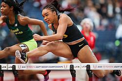 Don Kirby Invitational Indoor Track & Field<br /> Albuquerque, NM, Feb 14, 2020<br /> womens 60m hurdles heats, Oregon