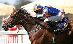 Magic Wand ridden by Ryan Moore win the Ribblesdale Stakes during day three of Royal Ascot at Ascot Racecourse.