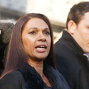 London,England,UK: 24th January 2017. Gina Miller wins supreme Court ruling case after Judges rule government cannot trigger Article 50 to start the formal process of leaving the European Union without a parliamentary vote, Westminster,London,UK. by See Li