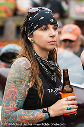 The Iron Horse Saloon during Daytona Bike Week. Ormond Beach, FL. USA. Sunday March 11, 2018. Photography ©2018 Michael Lichter.