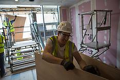 Battersea Viewing platform construction staff