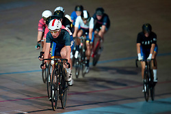 February 8, 2019 - Melbourne, VIC, U.S. - MELBOURNE, VIC - FEBRUARY 08: Ruby Roseman Gannon of Australia in action at The Six Day Cycling Series on February 08, 2019 at Melbourne Arena, VIC. (Photo by Speed Media/Icon Sportswire) (Credit Image: © Speed Media/Icon SMI via ZUMA Press)