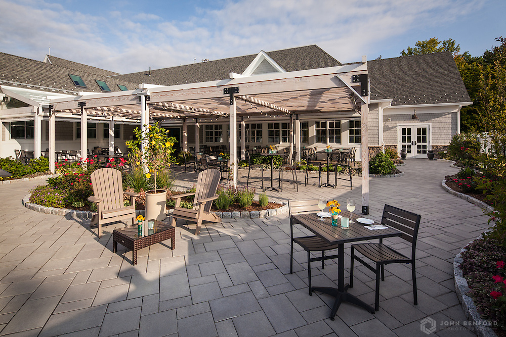 The Atlantic Grill, Rye, NH<br /> Clients: Woodburn & Co. Landscape Architects, The Atlantic Grill