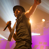 Maximo Park performing live at HMV Ritz, Manchester, Greater Manchester, 2012-11-06