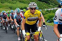 CYCLING - TOUR DE FRANCE 2011 - STAGE 9 - Issoire > Saint-Flour (208 km) - 10/07/2011 - PHOTO : JULIEN CROSNIER / DPPI - THOR HUSHOVD (NOR) / TEAM GARMIN - CERVELO