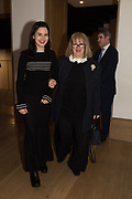 COSIMA ELWES; TESSA KENNEDY, Bonhams host a private view for their  forthcoming auction: Jackie Collins- A Life in Chapters' Bonhams, New Bond St.  3 May 2017.
