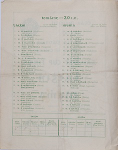 Interprovincial Railway Cup Football Cup Final,  17.03.1953, 03.17.1953, 17th March 1953, referee S P O Ceallacain, Leinster 2-09, Munster 0-06,.Interprovincial Railway Cup Hurling Cup Final,  17.03.1953, 03.17.1953, 17th March 1953, referee S O Fallcobair, Leinster 5-05, Munster 5-07, Leinster Hurling Team, Matthews, Hogan, Hayden, Marnell, Ferguson, Rackard, Walsh, Murphy, Allen, Kehoe, Wheeler, Maher, Kelly, Rackard, Flood, Prior, Rackard McGrath, Cronin, Kennedy, Munster Hurling Team, Reddan, Goode, Doyle, O'Shaughnessy, Herbert, Stakelum, Fuohy, Murphy, Shanahan, Nugent, Daly, Bannon, Kenny, McCarthy, Ring, Fives, Barry, Queely, O'Brien, O'Grady,