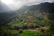 Valley between Nghia Lo and Tram Tau, Yen Bai Province, Vietnam, Southeast Asia