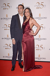 Mohammed Al Turki and Michelle Rodriguez attending the DeGrisogono party during the 71st Cannes Film Festival in Antibes, France, on May 15, 2018. Photo by Julien Reynaud/APS-Medias/ABACAPRESS.COM