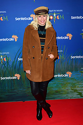 Denise Van Outen attending the premiere of Cirque du Soleil's Totem, in support of the Sentebale charity, held at the Royal Albert Hall, London.