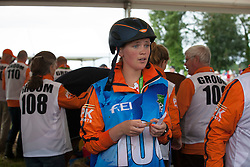 Yana De Boer, (NED)<br /> Endurance - Alltech FEI World Equestrian Games™ 2014 - Normandy, France.<br /> © Hippo Foto Team - Jantien Van Zon