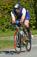 Monroe, New York - Competitors in the Southern Orange County YMCA Triathlon and Duathlon on Aug. 24, 2013.