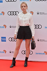 © Licensed to London News Pictures. 11/06/2019. London, UK. Tanya Burr attends the Sentebale Audi Concert at Hampton Court Palace. Photo credit: Ray Tang/LNP