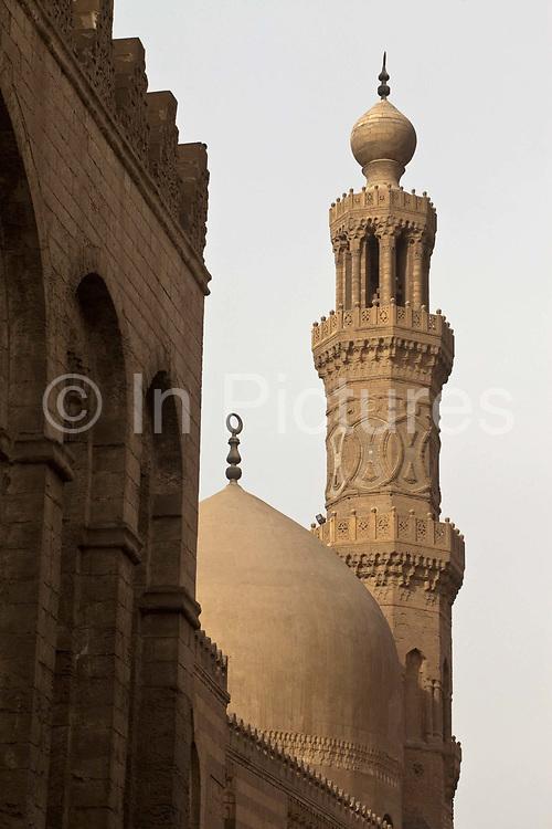 The Sultan Barquq mosque, Bein al-Qasreen area, Islamic Cairo, Cairo, Egypt