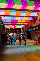 Coventry city of culture 2021, World-renowned artist Morag Myerscough has transformed Hertford Street into a artwork photo by Brian Jordan