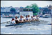 Henley, GREAT BRITAIN,  Men's Eight competing at 1997 Henley Royal Regatta, Henley Reach, 2-6 July 1997, Henley, ENGLAND [Mandatory Credit, Peter Spurrier/Intersport-images] 1997 Henley Royal Regatta, Henley, Great Britain