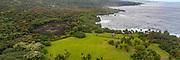 Kahanu Garden, Piilanihale Heiau, Hana Coast, Maui, Hawaii