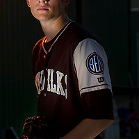 Elks' pitcher Riley Newman has one of the top ERAs in the West Coast League this season.