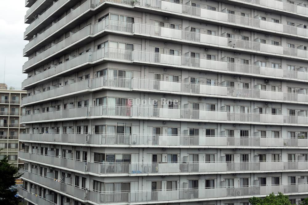 big residential highrise building Japan