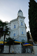 Outside view of Admiral Casino, Opatija, Croatia