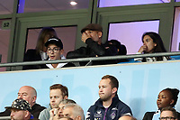Football - 2018 / 2019 UEFA Champions League - Group F: Manchester City vs. Olympique Lyonnais<br /> <br /> Reaction from Manchester City manager Josep Guardiola sat in the stands, at the Etihad Stadium.<br /> <br /> COLORSPORT/PAUL GREENWOOD