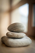 Close up of stone sculpture in Tierra Hotel, Torres del Paine National, Patagonia, Chile