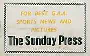 All Ireland Senior Hurling Championship Final,.Programme, .06.09.1953, 09.06.1953, 6th September 1953,.Cork 3-3, Galway 0-8, .Minor Dublin v Tipperary, .Senior Cork v Galway, .Croke Park, 0691953AISHCF,..Advertisements, The Sunday Press,