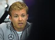 May 25-29, 2016: Monaco Grand Prix. Nico Rosberg  (GER), Mercedes FIA Press Conference