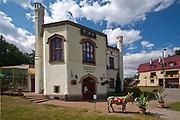 Kętrzyn, 2009-08-09. Polsko-niemieckie Centrum Kultury im. Arno Holza w Kętrzynie