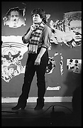 FRENCH AND SAUNDER; JENNIFER SAUNDERS: Performance of The Comic Strip,  Boulevard Theatre, next to the Raymond Revue, Walkers court , Soho. London. 1981