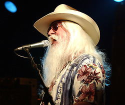 Nov. 13, 2016 - FILE - LEON RUSSELL (April 2, 1942 - Nov. 13, 2016) was an American musician and songwriter, who recorded as a session musician, sideman, and solo musician who was inducted into the Rock and Roll Hall of Fame in 2010. Russell died in his sleep in Nashville at the age of 74, after suffering a heart attack in July 2016. PICTURED: Oct 15, 2005 - Raleigh, North Carolina, U.S. - Legendary Musician LEON RUSSELL performs at the Lincoln Theater. (Credit Image: © Jason Moore via ZUMA Wire)