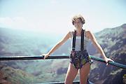 Margaret, Waimea Canyon, Kauai, Hawaii..