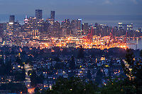 Vancouver Metropolis from Burnaby Mountain