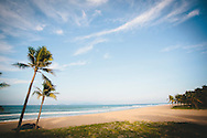 Deserted paradise beach in Quang Nam Province, Vietnam, Southeast Asia