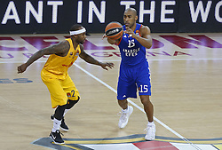 January 19, 2017 - Barcelona, Catalonia, Spain - Jayson Granger and Tyrese Rice during the match between FC Barcelona and Anadolu Efes, corresponding to the week 17 of the Euroleague, on 19 January  2017. (Credit Image: © Joanvalls/NurPhoto via ZUMA Press)