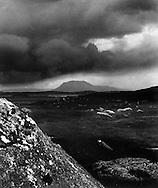 Rocks near Lettermere, Connemara 1940s